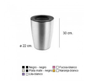 JABONERA NEXT FUCSIA-BLANCO